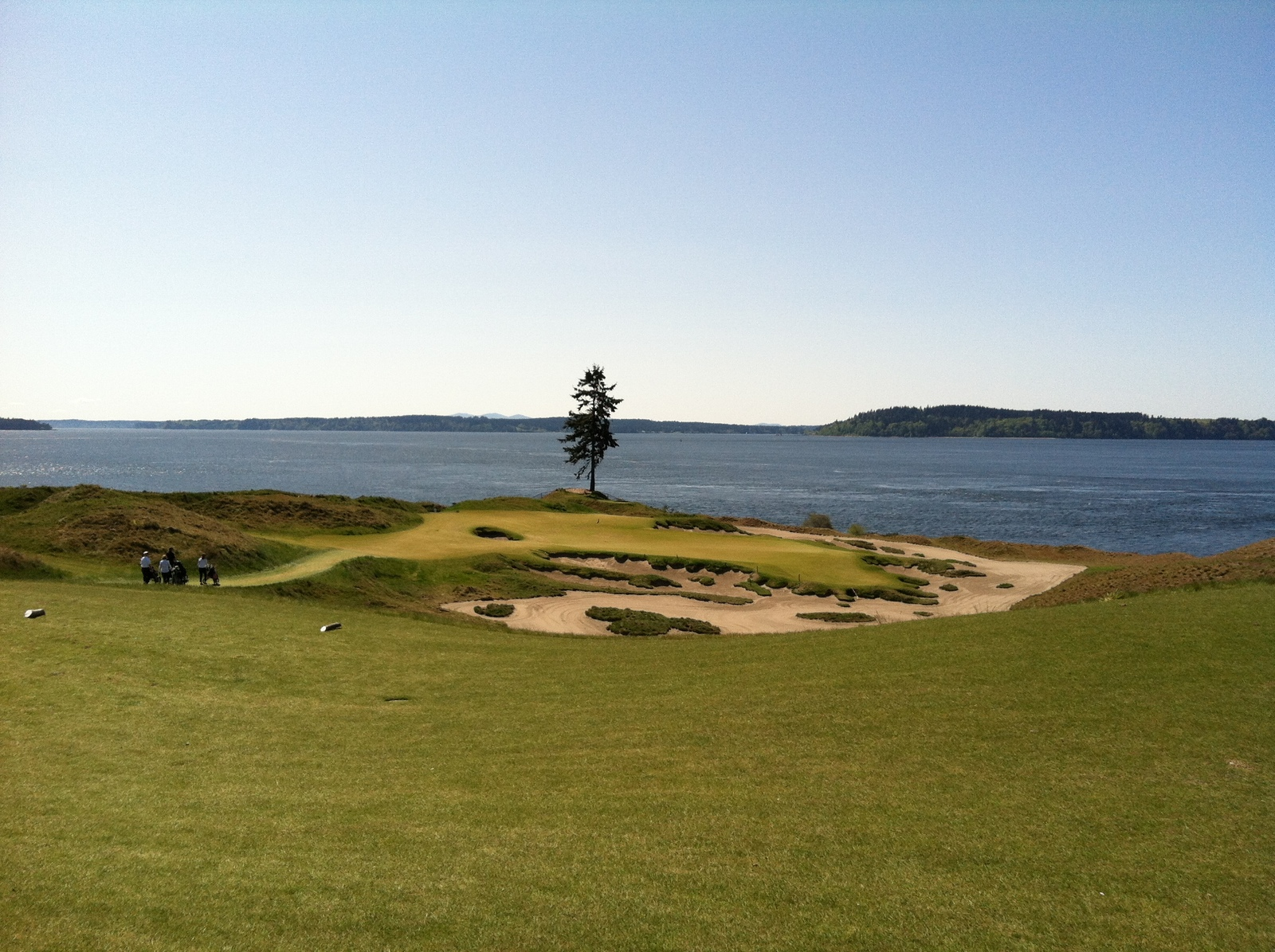 Chambers Bay site of 2015 US Open